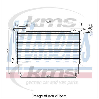 New Air Conditioning Condenser NISSENS 94351 Top Quality