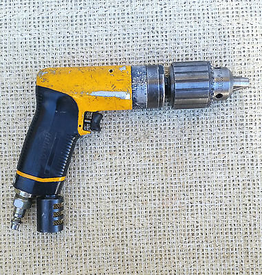 "ATLAS COPCO LBB36 Air Drill Motor with 1/2"" Jacobs Chuck, 6000 rpm"