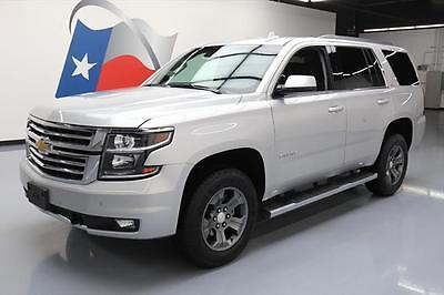 2016 Chevrolet Tahoe LT Sport Utility 4-Door 2016 CHEVY TAHOE Z71 4X4 8-PASS LEATHER SUNROOF NAV DVD #362340 Texas Direct