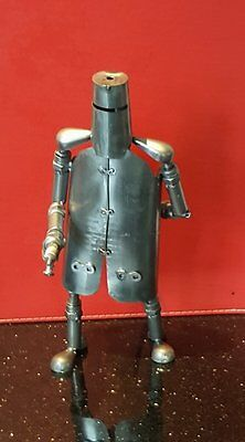 NED KELLY Hand Crafted ( Metal ) 28cm high