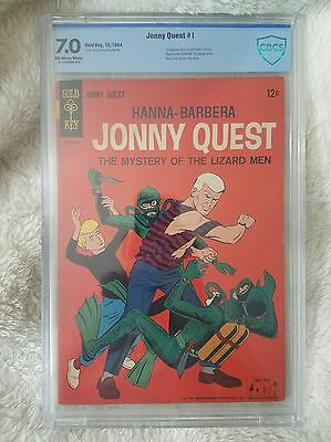 Jonny Quest #1 - 1st appearance of Jonny Quest - Gold Key Comics (1964) CBCS 7.0
