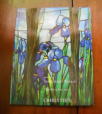 CHRISTIE'S New York IMPORTANT TIFFANY Collection Auction Catalog June 2005