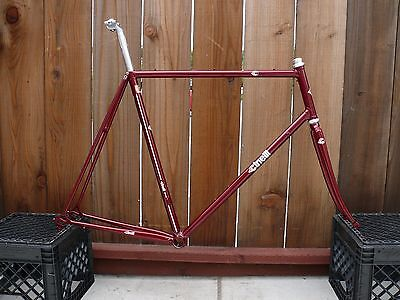Cinelli Super Corsa 1986 Classic Steel Frameset 60CM Columbus SLX & Parts
