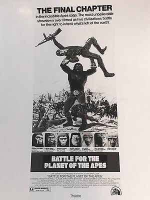battle for the planet of the apes movie poster photo Promo 20th century fox