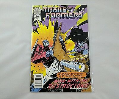 Transformers in 3-D Issue No. 3 Comic Blackthorne
