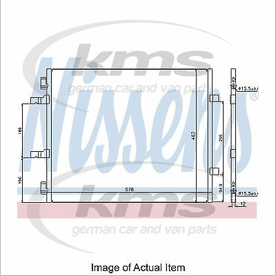 New Air Conditioning Condenser NISSENS 940201 Top Quality