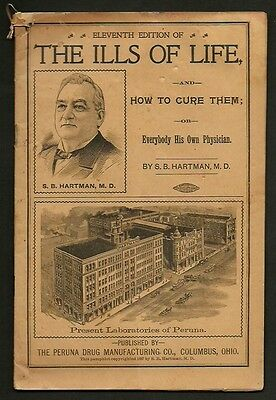 32 Page 1901 PERUNA DRUG CO. 11th Edition THE ILLS OF LIFE by S.B. Hartman M.D.