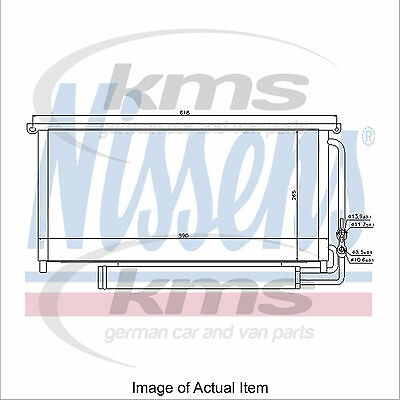 New Air Conditioning Condenser NISSENS 94840 Top Quality