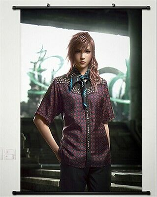 Home decoration lightning back to final fantasy Japanese poster wall rolling 46G