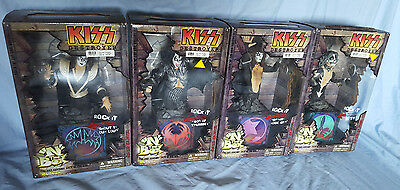 KISS JACK IN THE BOX SET of FOUR