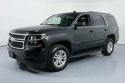 2017 Chevrolet Tahoe LT Sport Utility 4-Door 2017 CHEVY TAHOE LT 4X4 HTD LEATHER NAV REAR CAM 13K MI #119790 Texas Direct