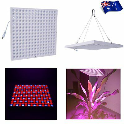 45W 225 LED Grow Light Panel Full Spectrum Veg Bloom Hydroponics System Indoor
