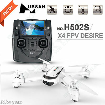 Hubsan H502S X4 FPV 5.8G RC Quadcopter Drone with 720P Cam GPS  Altitude Mode RC