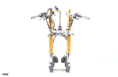 2009 Yamaha YZF R6 YZF-R6 OEM Complete Front End Suspension Forks Calipers Tree