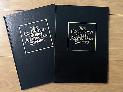 1984 Australia Post Deluxe Collection Yearbook Album with all Stamps