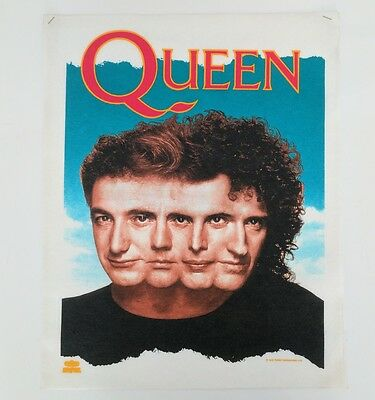 Vintage 90s Queen Shirt Sample Rare Licensed 1993 Artwork Freddie Mercury Poster