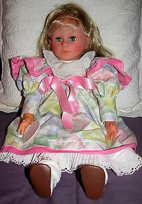 """22"""" Corolle Cloth and Vinyl Doll ... Vintage 1989 ... a Mint Condition Doll"""