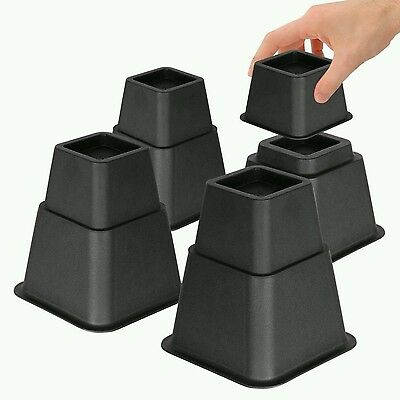 Bedtime Sleeper Bed Risers or Furniture Riser in Heights of 8, 5 or 3 Inches Hea