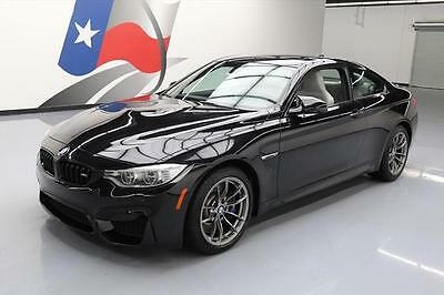 2015 BMW M4  2015 BMW M4 COUPE EXECUTIVE 6-SPEED SUNROOF NAV HUD 12K #333331 Texas Direct