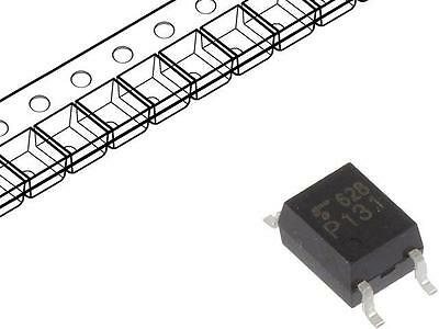4x TLP131F Optocoupler SMD Channels1 Out transistor 3.75kV SO6 TLP131(F)