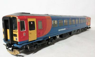 """East Midlands Trains Class 153 Dmu """"i 53374"""" Hornby # R2792 Used"""