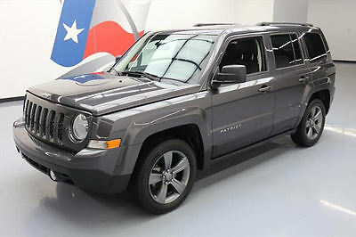 2014 Jeep Patriot  2014 JEEP PATRIOT HIGH ALTITUDE SUNROOF HTD LEATHER 18K #889444 Texas Direct