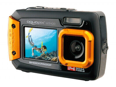 Aquapix W1400 Active Unterwasserkamera (Orange)