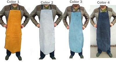 Split Leather Welding Apron Soldering Protective Clothing Carpenter Blacksmith