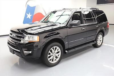 2016 Ford Expedition  2016 FORD EXPEDITION LIMITED ECOBOOST SUNROOF 20'S 31K #F53433 Texas Direct Auto