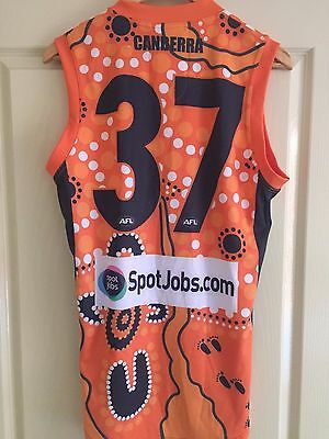 GWS Player Issue guerney jersey jumper - Rory Lobb - indigenous round