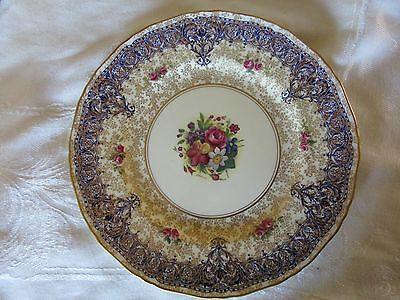Royal Worcester Cabinet Plate Signed Sedgley