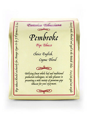 Esoterica Pembroke (Margate w/Cognac) 8oz SEALED UNOPENED Gold Collectible Bag