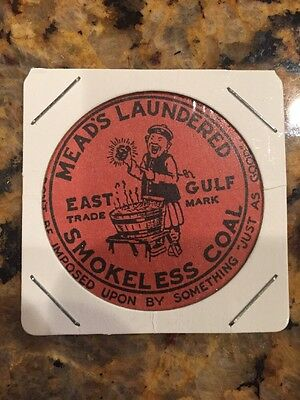 Meads Laundered Smokeless Coal Mining Scatter Tag