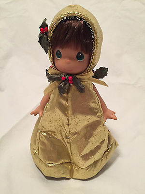 "Precious Moments Christmas Doll ""DINGALING"" (#1703) 7"" Doll dated 2003."