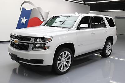 2017 Chevrolet Tahoe LT Sport Utility 4-Door 2017 CHEVY TAHOE LT 4X4 SUNROOF LEATHER NAV DVD 22'S 4K #169084 Texas Direct