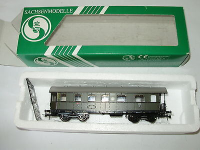 Sachsenmodelle 14242 Pass car 2/3 class HO. Boxed. New old stock.Made in Germany