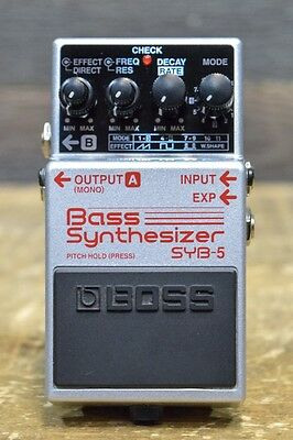 Boss SYB-5 Bass Synthesizer DSP technology Electric Bass Effect Pedal #B7C6132