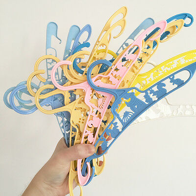 15 Vintage Childrens Coat hangers - coathangers - kids - baby - doll clothes