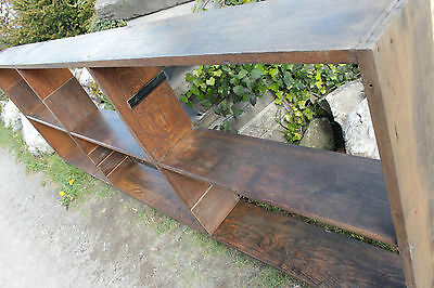 Vintage Oak Shelving Old Original Display Shop - Yorkshire Dales Reclaim