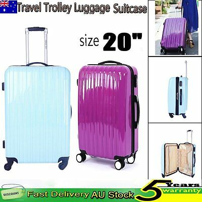 20inch Spinner Wheel Luggage Suitcase Trolley Travel Lightweight Carry On Bag PC