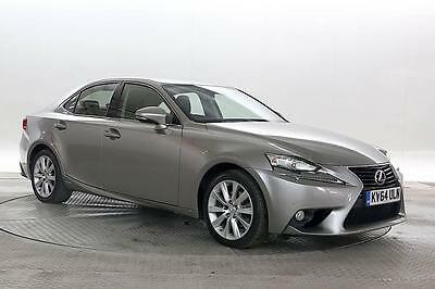 2014 (64 Reg) Lexus IS 300H 2.5 Executive Edition Silver ELECTRICITY AUTOMATIC