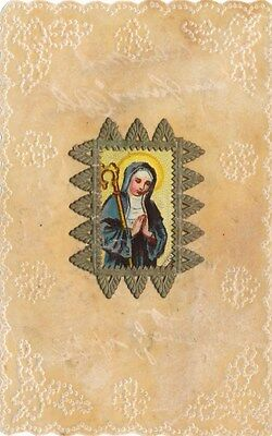 Nr.10179 Andachtsbild  holy card Pergament Litho hl. Maria