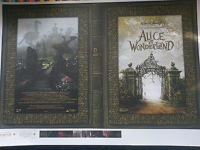Disney Lithograph Alice In Wonderland Pre Production Test Run Lithographs SRA2