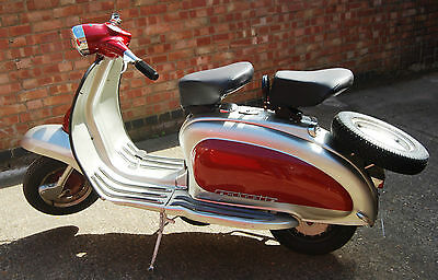 1963 Lambretta* Historic Vehicle* Li 150 Series 2 Scooter *uk Seller*