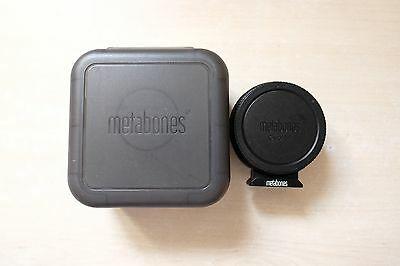 Metabones Speedbooster EF for BMPCC