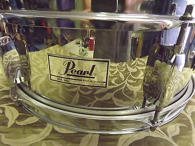 Pearl Chrome Over Timber Snare Drum