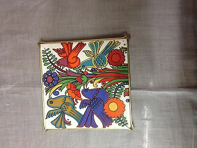 Villeroy and Boch  Acapulco Tile trivet with Wire support