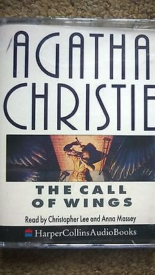 Agatha Christie Audio Book Story Tapes X 2 The Call Of Wings Cassettes