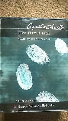 Agatha Christie Audio Book Story Tapes X 4 Five Little Pigs