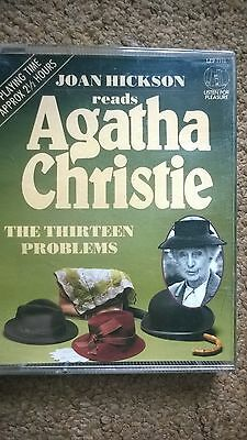 Agatha Christie Audio Book Story Tapes X 2 Hercule Poirot Taken At The Flood